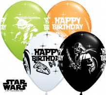 Star Wars Birthday Balloons - 11 Inch Balloons (25pcs)